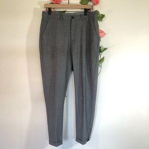 Zara Man Gray Dress Pants